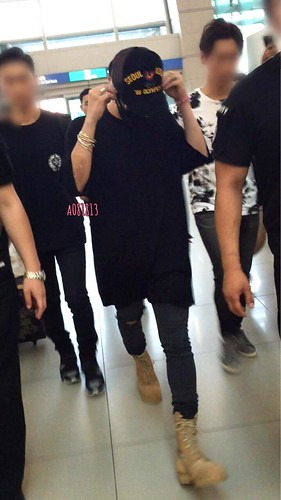 YB Dae GD departure Seoul to Bangkok 2015-07-10 018