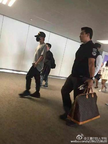 BIGBANG GDTOPDAE arrival Hangzhou 2015-08-25 132
