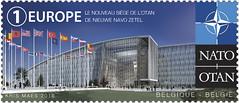 20 L'OTAN en Belgique pr timbres seÌpareÌs