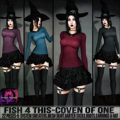 Sn@tch Fish 4 This-Coven of One Vendor Ad LG