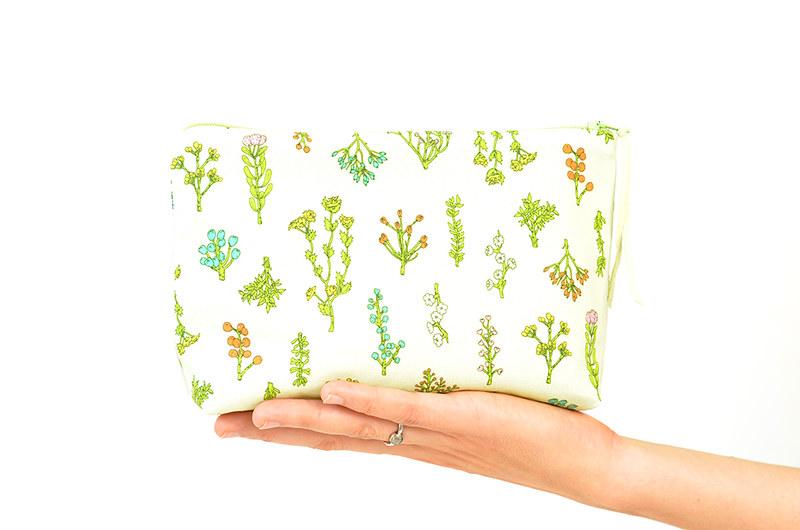 Plant Bits Boxy Pouch