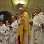 Priests leading Mass