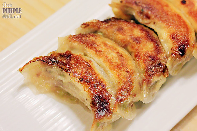 Bacon and Cheese Gyoza (P190 6pcs; P380 12pcs)