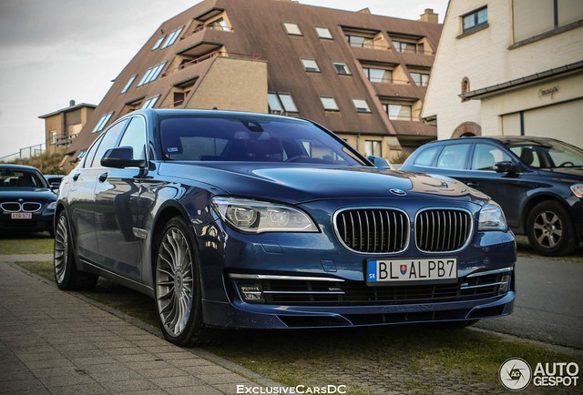 Brand New BMW Alpina B7 Spotted in Belgium: Luxury At Its Best