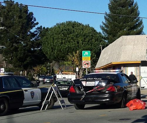Santa Cruz cyclist hit and run fatality Soquel & Hagemann