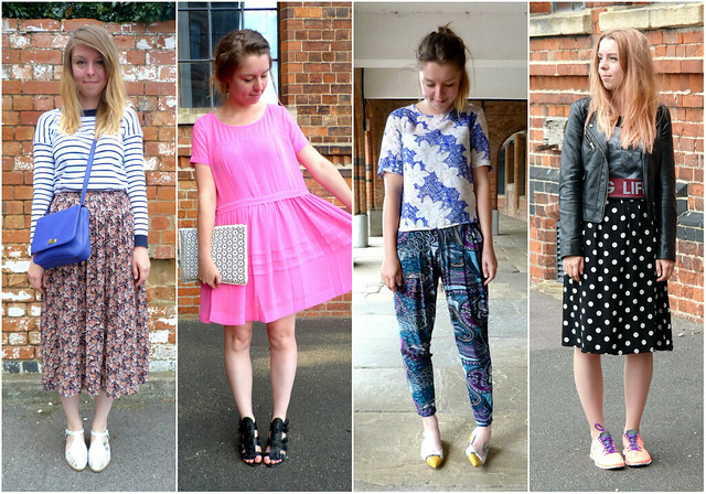2014 fashion blogger outfits roundup - May-August