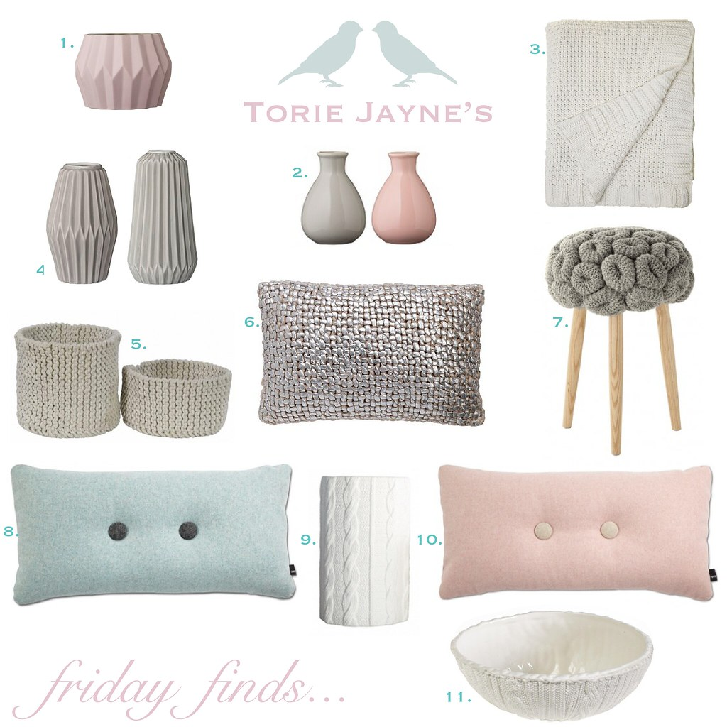 Friday finds... Chalky pastels