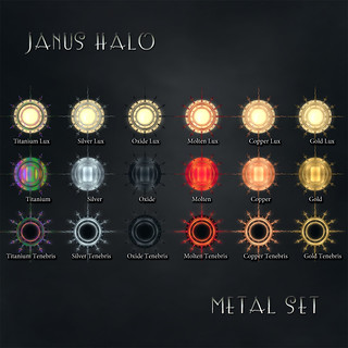 Devae. Frills/Janus Halo - Metals colors
