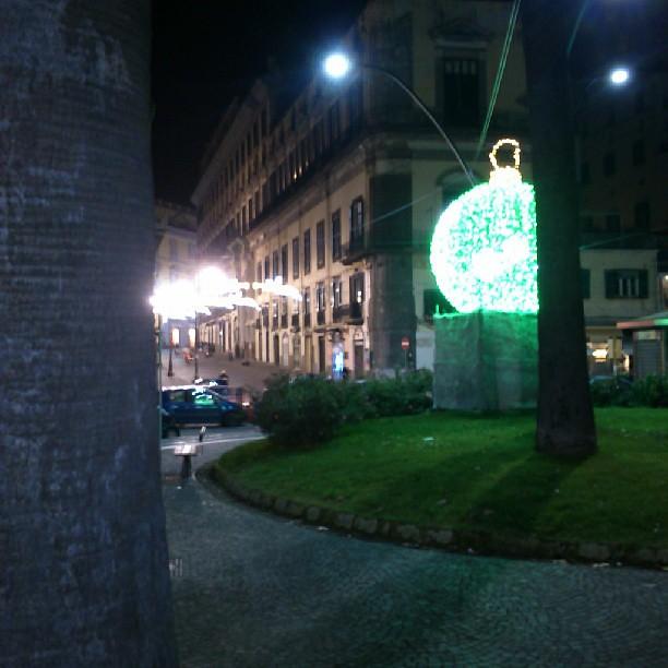 Addobbi Natalizi Napoli.Napoli Piazza Vittoria Addobbi Natalizi Francesco Melillo Flickr