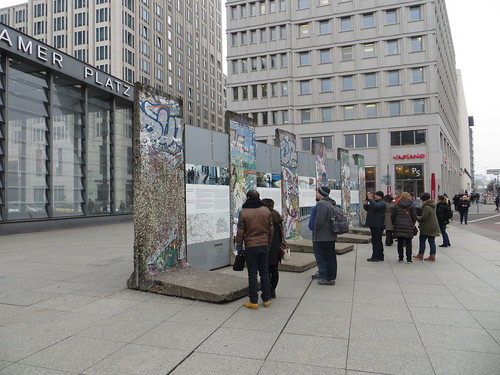 the wall at potsdamer platz