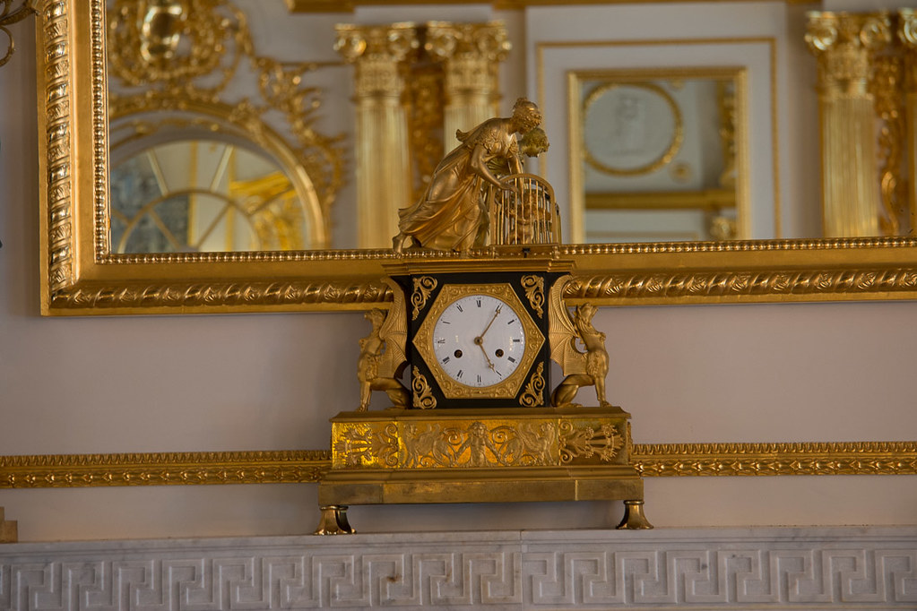 Clocks in Catherine Palace