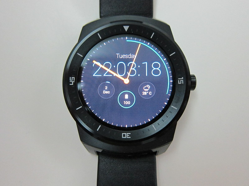 LG G Watch R - Front