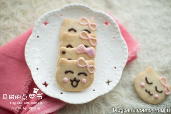 全麦猫咪饼干