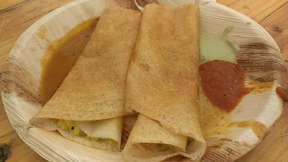 Dosa at World Vegan Day
