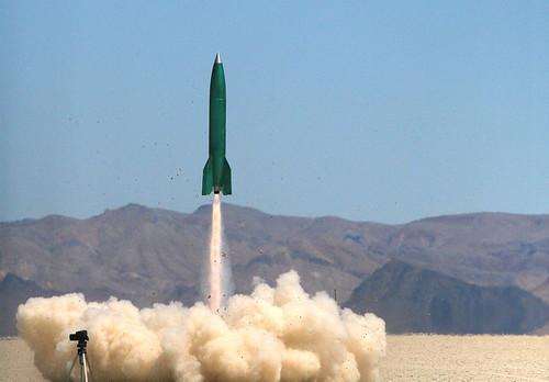 Rocket Launching courtesy of Wikimedia Commons