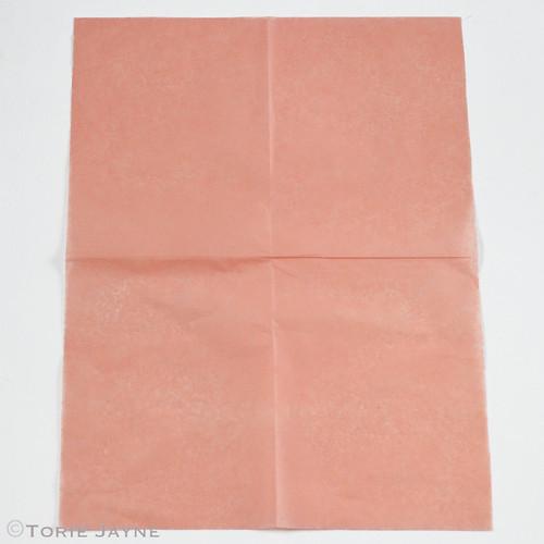 Tissue paper tassel garland tutorial 1