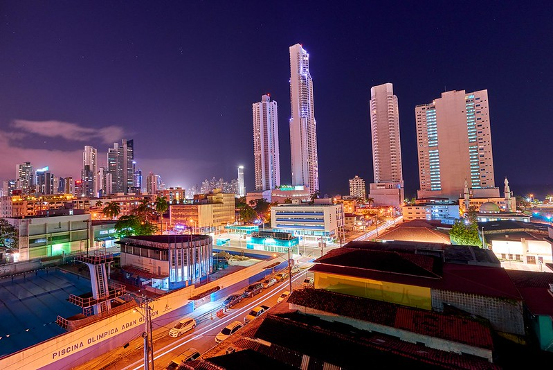 Panama City by night - Panama
