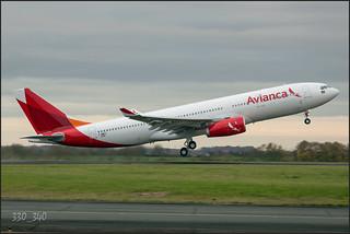"""A330-243 """"Avianca Brazil""""  PR-OCF(F-WWKZ)   / 3226"""