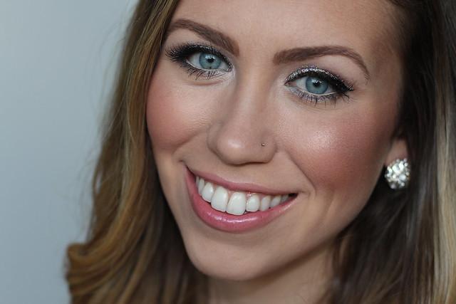 Glitter Eye Makeup | NYE | #LivingAfterMidnite