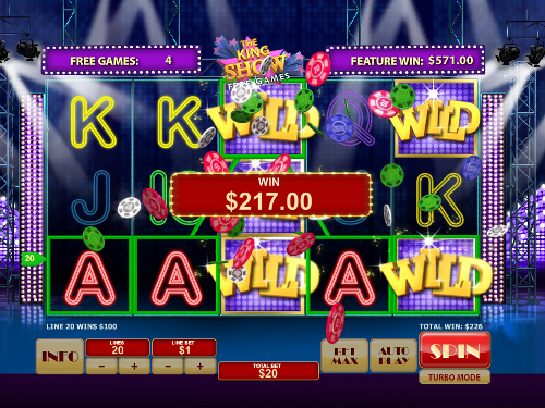 free Cat in Vegas slot free spins big win