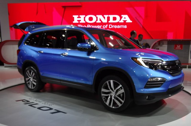 2016 Honda Pilot at 2015 CIAS