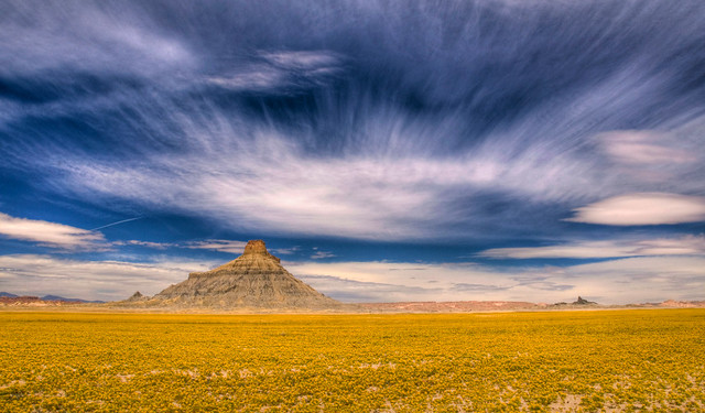 Factory Butte, UT (photo from Hidden Gems of the Western United States by Daniel Gillaspia)