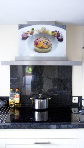 foto in keuken