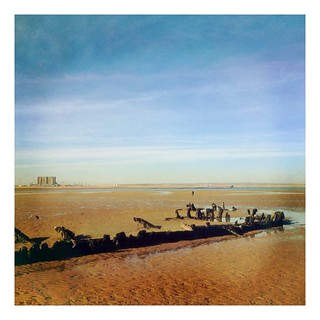 Wooden Shipwreck on Bran Sands, South Gare, Redcar & Cleveland