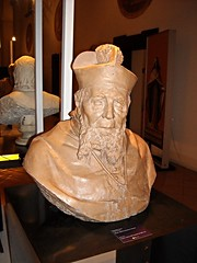 """""""The archbishop Sutter"""" - terracotta by Stanislao Lista (Salerno 1824-Naples 1908) - Naples, Academy of Fine Arts, now at Exhibition """"The Beauty or the Truth. Sculptures in Naples"""" at San Domenico Maggiore in Naples, until May 31, 2015"""