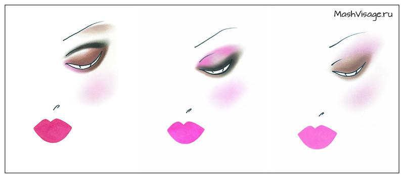YSL весна-лето 2015 макияж