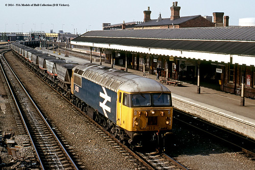 train diesel railway freight britishrail doncaster southyorkshire class56 56119