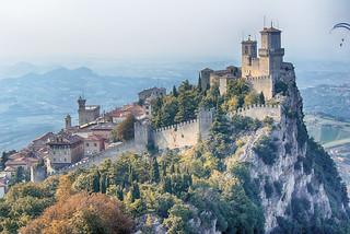 San Marino. Fortress of Guaita