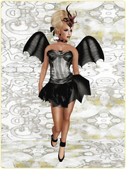 Gothmas by Gaslight 2014 - Dark Water Designs - Striped SugarPunk Fairy set