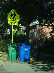 Trash Day, 1900 Block E. Union, Central District, Seattle