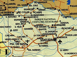 Maturin on the map.