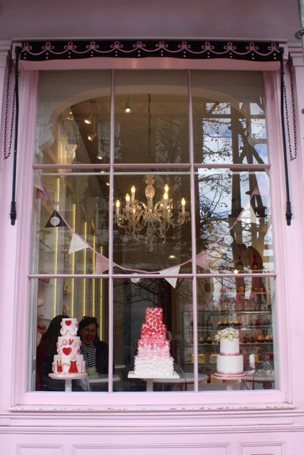 Street view of Peggy Porschen, London