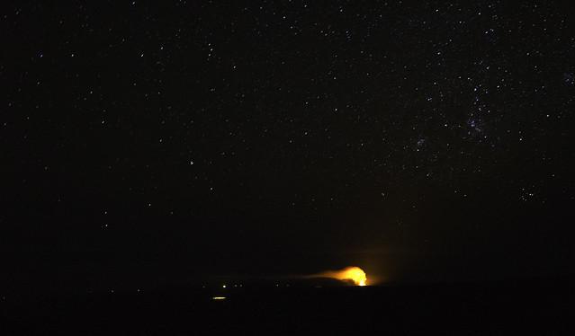 Volcano and Stars