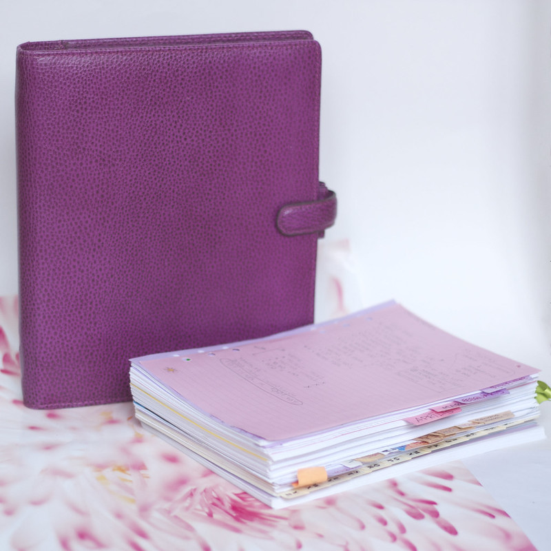 Filofax ideas for year 2015