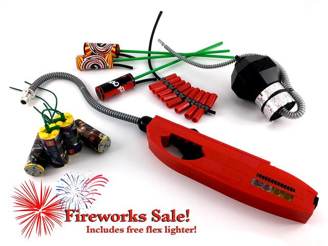 Lego Fireworks!