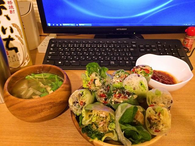 2015年1月23日(金)夕食
