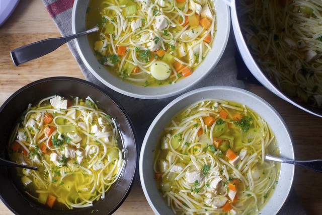 my favorite chicken noodle soup yet