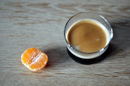 Clementin og kaffe