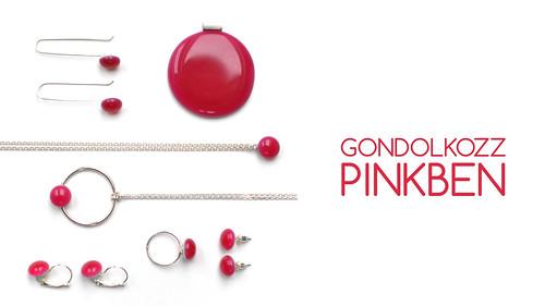 PINK SIGNATURE JEWELRY | bold.color.glass by panyizsuzsi