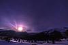 Full Moonrise at Blue Hour by Rakaskas34