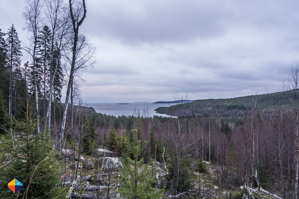 View at Skuleberget National Park South Entry