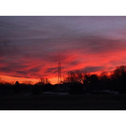 sky clouds sunrise square nebraska squareformat lincolnnebraska iphoneography instagramapp uploaded:by=instagram fujixf1