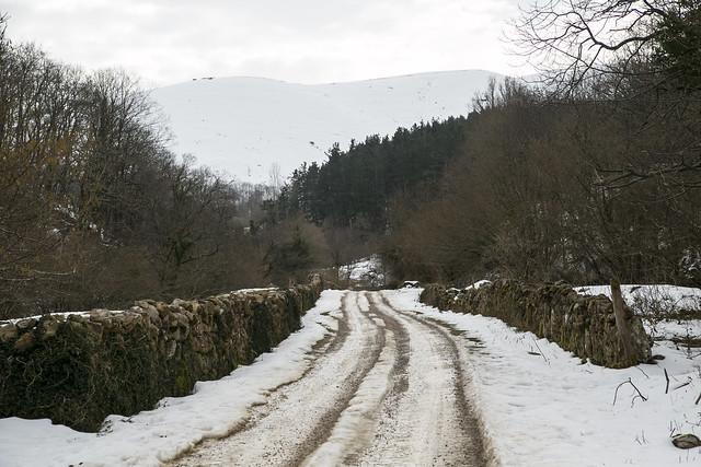 Barcenillas, ruta de las cascadas Lamiña