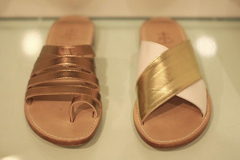 Leather sandals by Sofia Capri