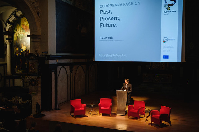 Europeana Fashion team leader Dieter Suls' Opening lecture