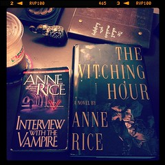 On to the next one #annerice #books #reading #rainydays